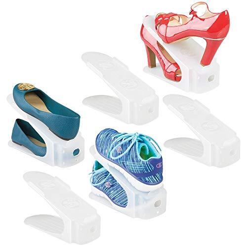 MDesign Juego 6 organizadores zapatos - Guarda zapatos