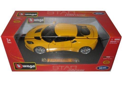 lotus-evora-s-ips-yellow-1-24-by-bburago-21064-by-bburago