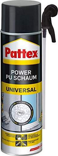 Pattex 1295865 Power Universel Mousse PU, Blanc