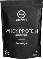 ORGAINIC Bio Cacao Whey Protein - Bio Zertifizierung (DE-ÖKO-006) - Grasfütterung - 1000 g
