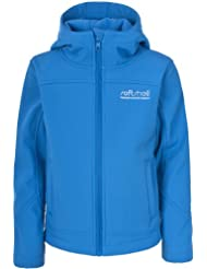 Trespass Talok Softshell 2-3 - Soft shell para niño, color azul, talla UK: Age 5-6