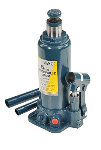 Pro-Lift-Montagetechnik 6t Stempelheber, Hydraulikzylinder, 212mm - 409mm, T grün, 00913 Test