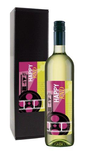 Wein-Geschenk 'HAPPY END'