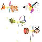 KaiDeng 3D Cute Animal Windmühle Windspiel Whirligig Yard Garden Decor Kids Toys Hot