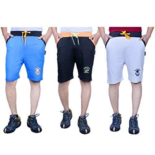 mens cotton shorts online india