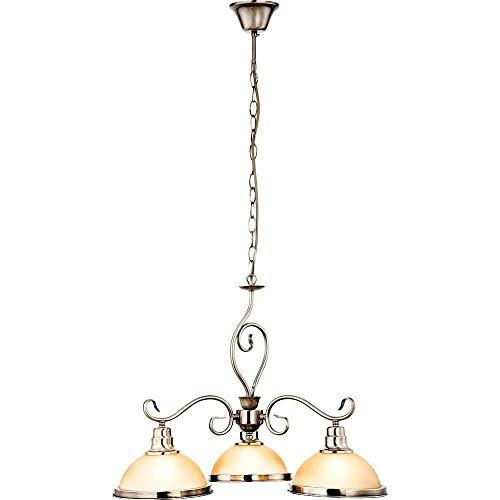 Hänge Leuchte Jugendstil Luster Wohn Zimmer Tisch Beleuchtung Decken Lampe Globo 6905-3