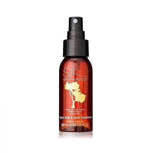 Soie Huile Du Marocain De Luxe Argan Oil Peau & Traitement Pour Cheveux Serum 60ml - & La - À L'huile - Sans Paraben Hydrater - Minéraux - Cruauté