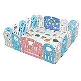 A~LICE&HL Baby Crawling Fence, Gioco per Bambini per Bambini Step Bar Baby Protective Fence Home Sicurezza Recinzione in plastica Che circonda,F