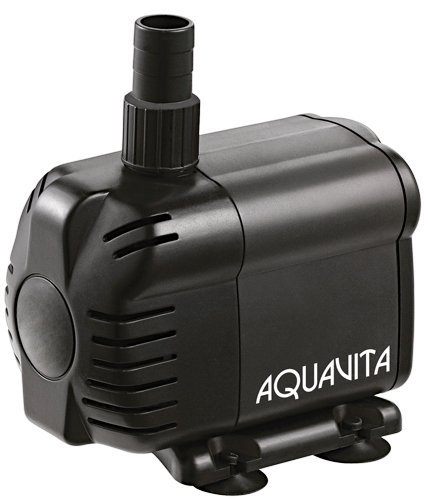 AquaVita 1585 Hydroponic Grow Plant Care Submersible/In-Line Aquarium Tank Water Pump by AquaVita