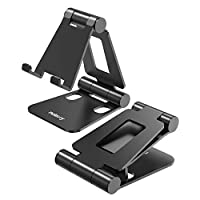 NULAXY Phone stand, Cell Phone Holder, Adjustable Universal Travel Smartphone Holder for Tablet iphone X Xs iphone Max 8 plus, iPad,Nintendo Switch.