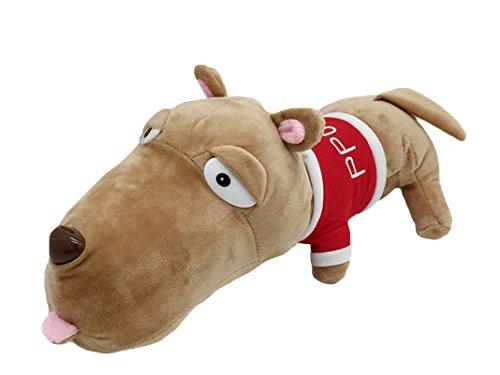Good Night Peluche en forme de tête de jouet en peluche Super mignon grande poupée pour enfants, 30cm