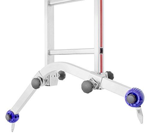 HYMER 0050766 Universal-Traverse für alle gängigen Anlege-, Schiebe und Seilzugleitern ohne Klappfuß