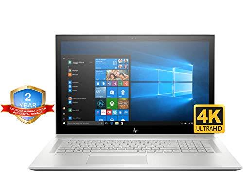 HP Envy 17t Quad Core Accidential - HP Envy 17t UHD Laptop (Intel i7-8550U Quad-Core, 16GB RAM, 4TB Sata SSD, 17.3 4K UHD (3840 x 2160), GeForce MX150 4GB, Win 10 Pro) Two Year Warranty and Accidential Damage