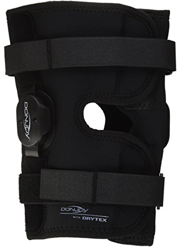 DonJoy Deluxe Hinged Knee Brace, Drytex Wrap Around, Open Popliteal, Large by Drytex - DJO Global -