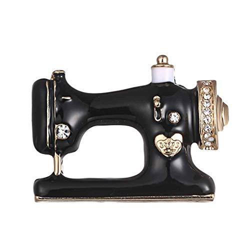 Pegcdu Única máquina Coser Broche Mujeres Broche