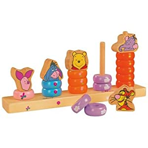 Desconocido Eichhorn Winnie The Pooh 3035  - Plug-Learning Bordo