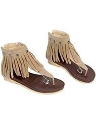 Beauqueen Sandalen Flip & Flop Tangas Frauen Sommer Quaste weiblich Casual Schuhe Special Größe Europa 34-39