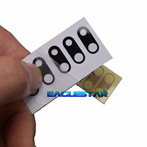 Eaglestar 5x Saphir Schwarz Neu Hinten Kamera Cover Glas Objektiv Ersatz für iPhone 7Plus 5,5 (Iphone-kamera-objektiv-ersatz)