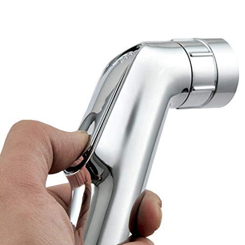 VZOM Bidet Duschkopf WC-Sprüher Tuch Windel Douche Kit Ass Cleaner Bewässerungsdüse für die Reinigung von Badezimmern und Toilettensitzen und reduziert Bakterien. - De Douche