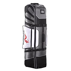 Woodworm Golf Deluxe Travel Cover : Silver