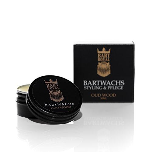 Bart Royal Bartwachs Oud Wood, 1er Pack (1 x 30 g)