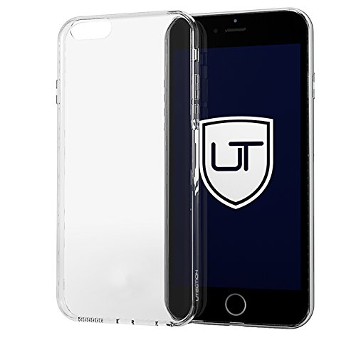 iPhone 6 Plus / 6s Plus Silikon-Hülle Case Durchsichtig ** Ultra-Slim & Leicht ** Kein Vergilben ** Perfekte Passform ** Soft Slimcase Skin Transparent by UTECTION® (Iphone 4 Body Armor Hybrid Case)