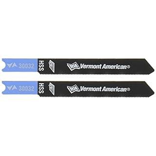 Vermont American 300322–3/4-Zoll 36Tpi High Speed Stahl Metall schneiden u Schaft Stichsägeblätter, 2er Pack