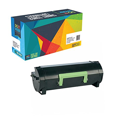 Preisvergleich Produktbild Do it Wiser ® Kompatibel Toner (10.000 Seiten) für Lexmark MX310 MX410 MX510 MX511 MX611 - 60F2H00 60F2H0E 602H 602HE