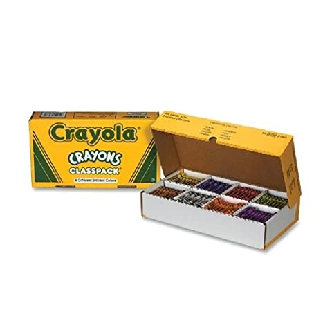 Binney and Smith Binney and Smith Crayon Classpack,Large 4 in.x7-16 in.,
