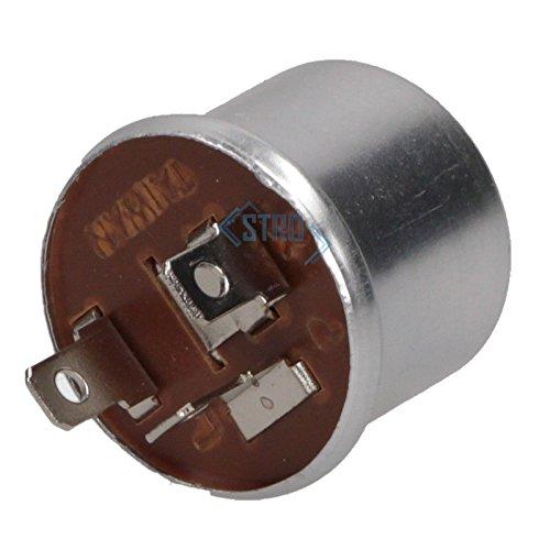 Universal Blinkgeber Blinkrelais mechanisch 12V 3-polig 1-2 x 21 Watt - Relais 3 Polig