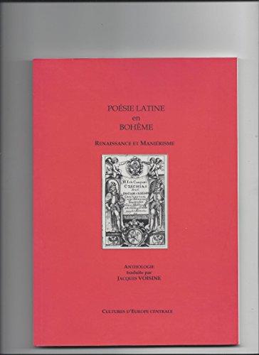 Poesie latine en boheme renaissance et manierisme