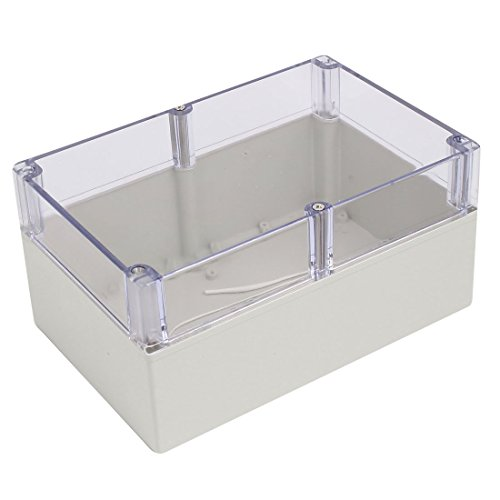 x 120mm ABS Clear Cover Dustproof IP65 Electrical Junction Box ()