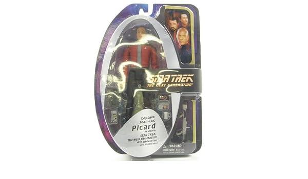 Captains Jacket Diamond Select Toys Star Trek The Next Generation Series 2 Action Figure Captain Jean-Luc Picard