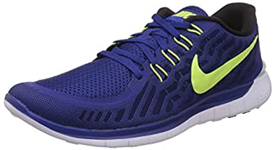 Nike Men s Free 5.0 Running Shoe BOLD BERRY/WINE/WOLF GREY/ORANGE PEEL 12.5 D(M) US