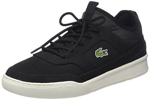 Wht Blk Herren Sneakers (Lacoste Herren Explorateur Crftsp1181cam Sneaker, Schwarz (Blk/Off Wht), 46.5 EU)