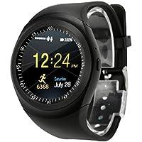 Logobeing Deporte Smartwatch 2018 Bluetooth Reloj Inteligente Teléfono Camarada Completa Redondean La Pantalla Sim para Android