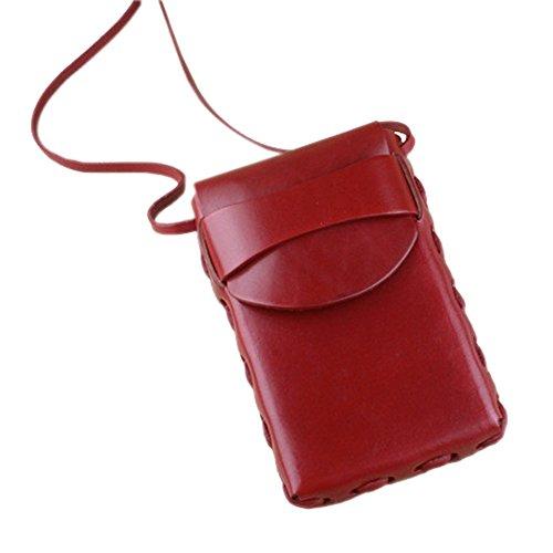 boshiho, Borsa a tracolla donna Red