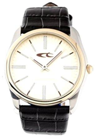 Chronotech CT7170M_04M - Reloj Analógico Para Hombre, color Blanco/Negro