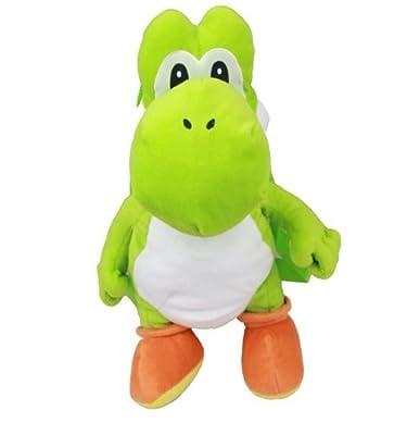 Sac à dos en peluche–Nintendo–Super Mario Yoshi–New souple poupée Jouets nn3851–2