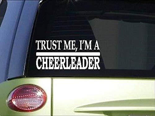 CELYCASY Trust Me CheerleaderH491 20,3 cm Sticker Aufkleber Cheer Leader Uniform