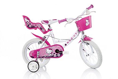 Dino 164R-HK - Bicicletta Hello Kitty, 16 Pollici