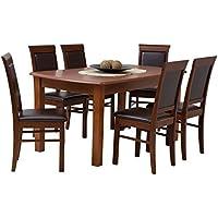 Suchergebnis Auf Amazon De Fur Tischgruppe 6 Stuhle Mobel