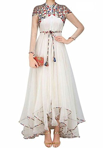 Party wear Designer Salwar Kameez ( Karmafashion Latest Design Churidar Dress for wedding function Semi Stitched women Punjabi Dress for girls party wear 18 years latest Anarkali Salwar Suits collecti