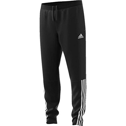 8 Kinder Hose Trainingshose (adidas Kinder REGI18 TR PNT Y Sport Trousers, Black/White, 7-8Y)
