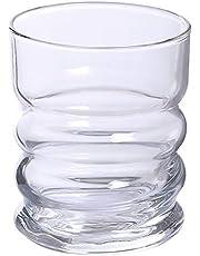 Amazon Brand - Solimo Whisky Glass Set (6 pieces, 240ml)