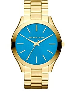 Reloj Michael Kors Slim Runway Mk3265 Mujer Azul de Michael Kors