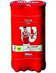 Balles de Tennis Wilson, Tour Comp, Boîte de 4