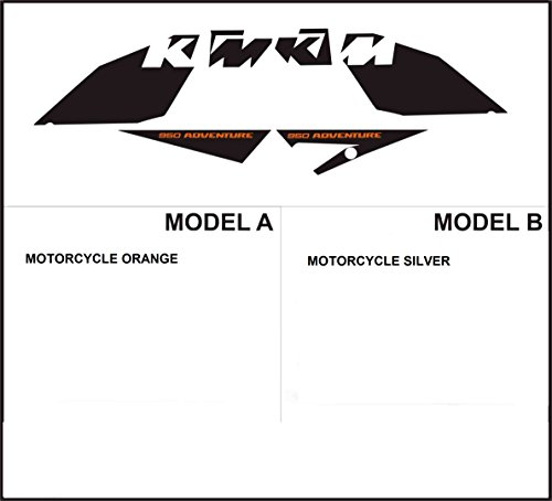 set decal stickers Aufkleber LC8 950 ADVENTURE 2003 (ability to customize the colors)