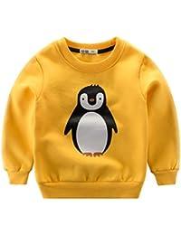 Kinder Pullover Sweatshirt f/ür M/ädchen Baby Fleecepullover Herbst Fr/ühjahr kinderkleidung Babykleidung 2-7 Jahre alt