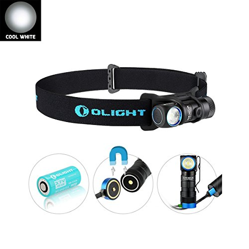 Olight H1R Nova - Linterna frontal recargable LED